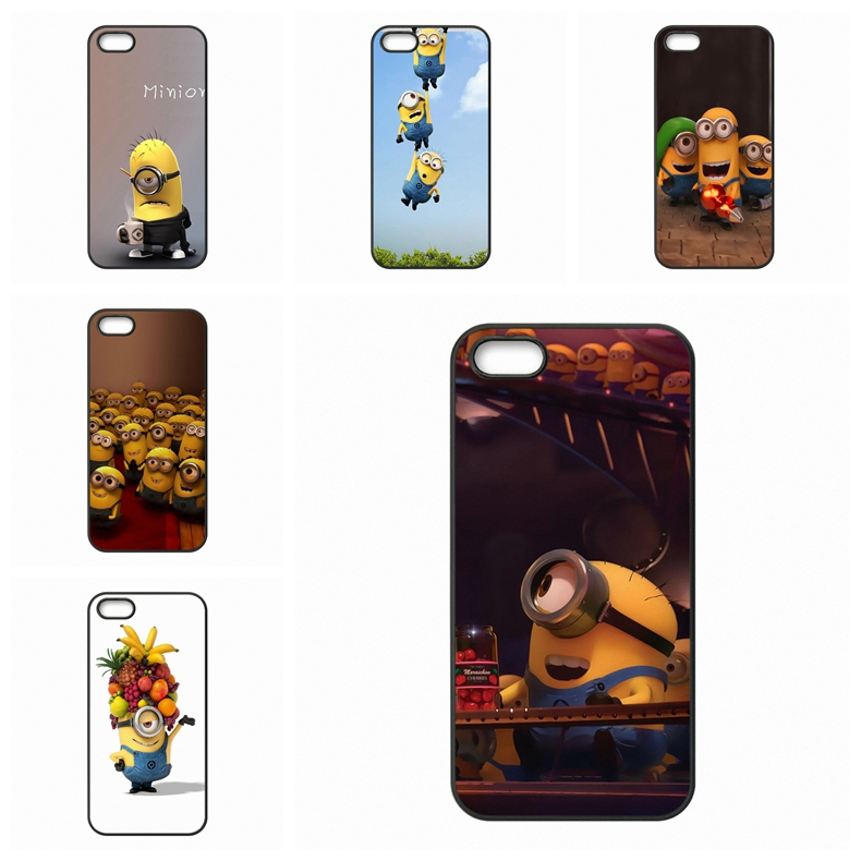 accessories Pouches Yellow Minions Adorable eyes For Samsung Galaxy Note 2 3 4 5 edge lite A3 A5 A7 A8 A9 E5 E7 2016(China (Mainland))