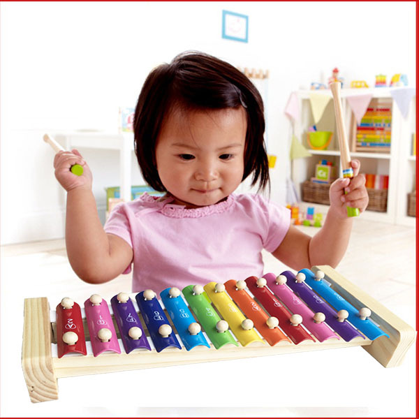 xylophone wisdom wooden instrument musical talent inspired gift/amazing new product child music toy(China (Mainland))