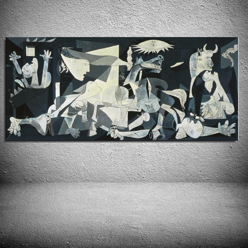 synthesis of guernica oil painting The painting at first seems to be quite simple but if one were to look closely, one would find different symbols within different parts of the painting 8 guernica.