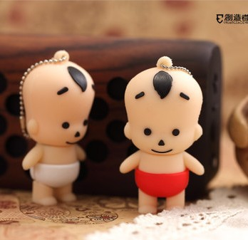 Cartoon kid actor 8GB USB Flash Drive pendrive memory Stick pen thumb U Disk Free Shipping Gift(China (Mainland))
