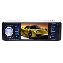 4.1'' HD Screen LCD Built-in Bluetooth Car Radio Stereo MP3 Player Wheel Control FM/USB Disk Drive Player Handsfree Radio(China (Mainland))