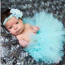 New 2015 Multi-Color Summer Style Baby Skirts Photography Costume Newborn Tutu Skirt With Headband Set Free Shipping 6929(China (Mainland))