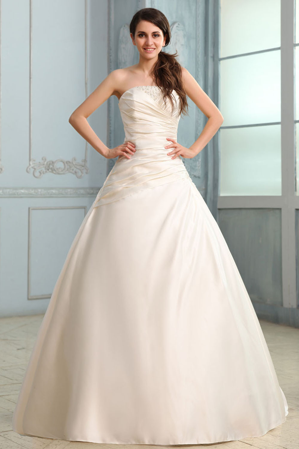 2015 mermaid wedding dresses high end custom satin wedding