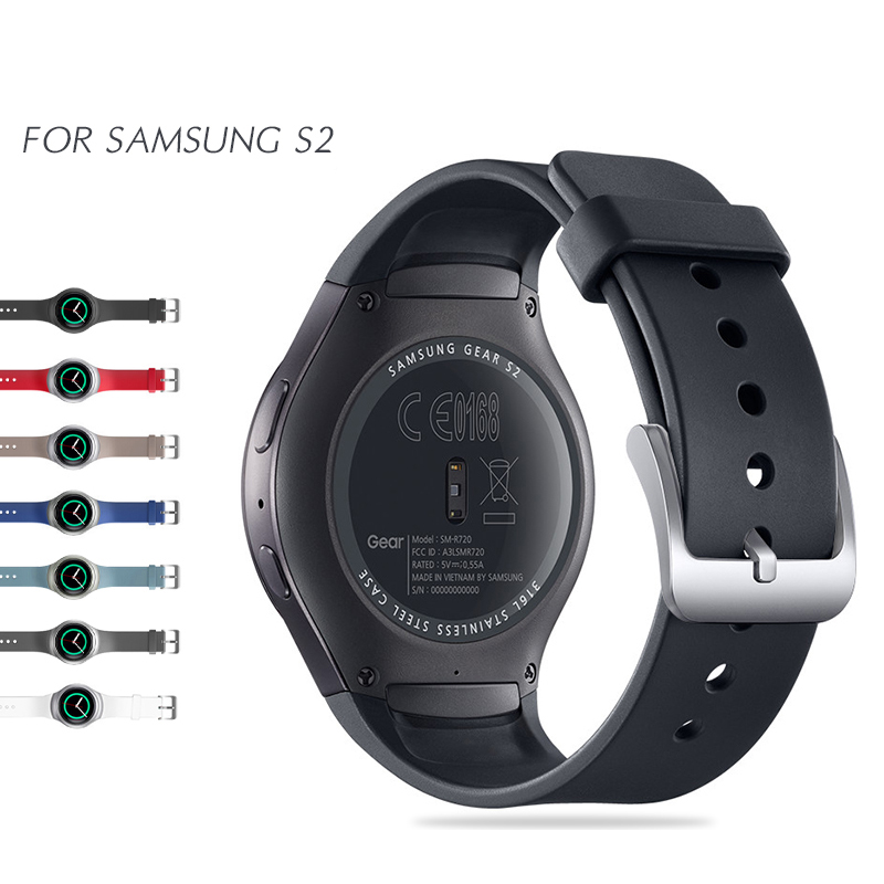 NOTO Sport Silicone Band For Smart Samsung Gear S2 Watch Band Stylish Silicone Replacement Strap SM