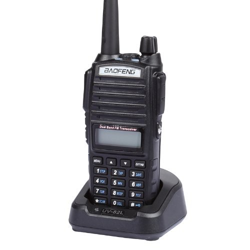 BaoFeng UV-82 Commercial Model Dual-Band 136-174/400-520 MHz FM Ham Two-way Radio, Transceiver With Battery, Earpiece(China (Mainland))