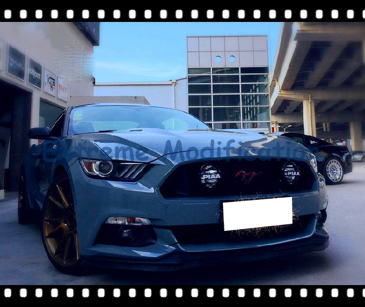 2015 2016 mustang paa front grille fog lights pair in external lights. Black Bedroom Furniture Sets. Home Design Ideas