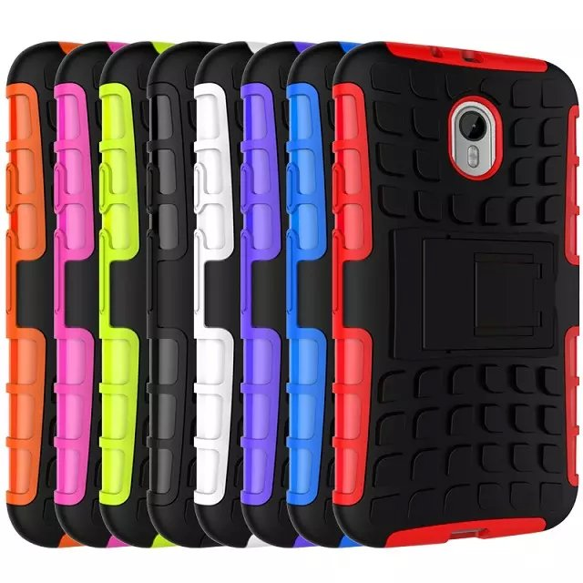 For Motorola Moto G3 Phone Case Hybrid Hard Shockproof Armor 2 In 1 With Stand Mix color TPU&PC Back Function Cover For MOTO G3(China (Mainland))