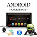 2 Din Android 4 4 Full Touch Car PC Tablet double 2din Audio 7 GPS Navi