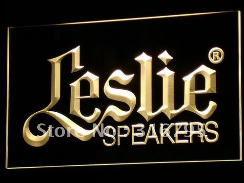 k044-y Leslie Speakers NEW Audio NR LED Neon Sign with On/Off Switch 7 Colors to choose(China (Mainland))