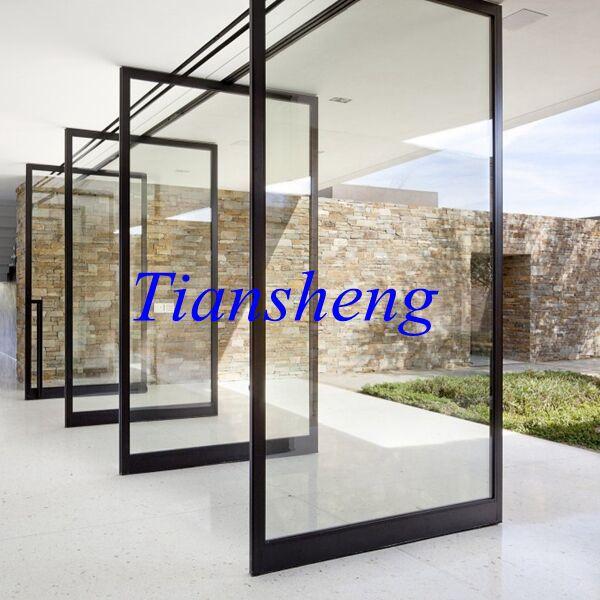 Fashionable Aluminium Pivot Glass Doors(China (Mainland))
