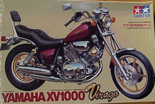 Free Shipping Tamiya #14044 Motorcycle Model 1/12 Motorbike YAMAHA XV1000 Virago Scale Hobby Model Kit(China (Mainland))