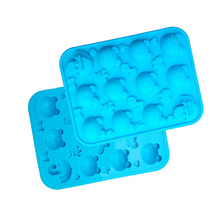 Cake Mold 12 Hole Silicone frog Fondant Mold Kitchen Accessories Chocolate Pudding Bakery Biscuit DIY Baking Mould Bakeware Pan