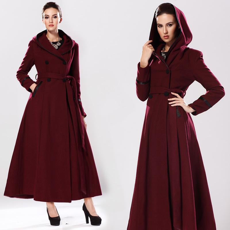 Long Hooded Coats