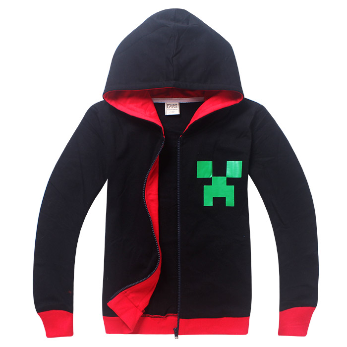 2016 New Big Boy Hoodies Sweatshirt Coat Boys Hoody Children Sweater Boys And Girls Clothes Zip-Up Hoodies Games Items Coat Tops(China (Mainland))