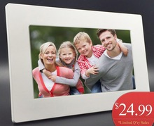 New Fashion 6 inch Mini Digital Photo Frame, Photo, Music & Video Player, Clock & Calendar, Best Gift, Free Shipment.