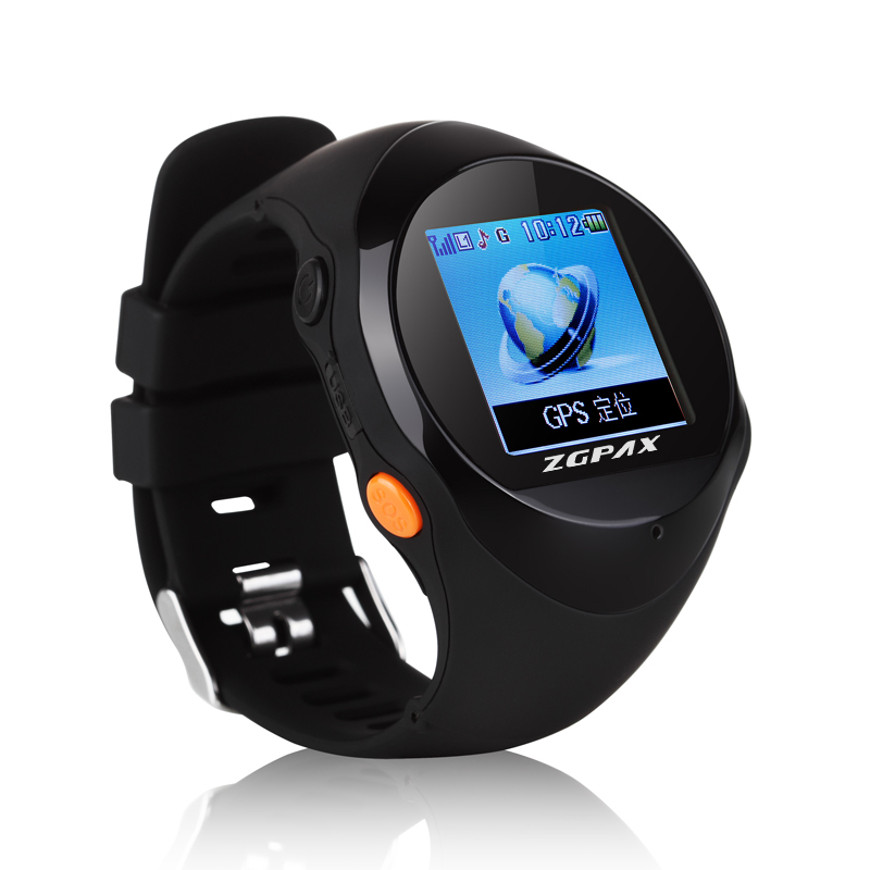 2015 New Smartwatch ZGPAX PG88 Outdoor Smart GPS Tracking Aged Pet Anti-lost Travel Watch 4 Colors Free Shipping(China (Mainland))