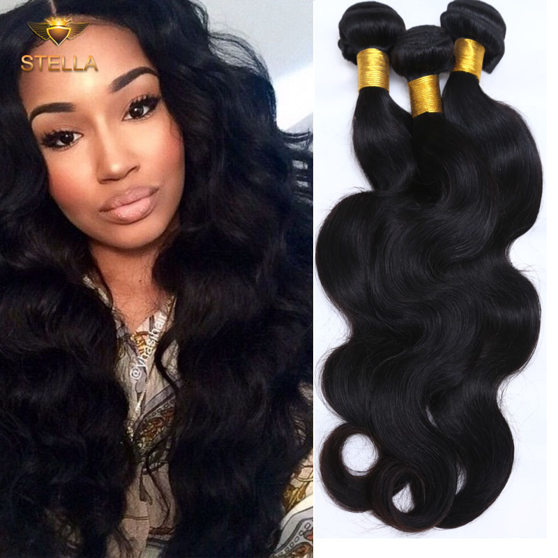 Rosa Hair Products Brazilian Body Wave 6a Unprocessed Virgin Hair Body Wave 3 Bundle Deals Brazilian Hair Body Wave Wavy Hair