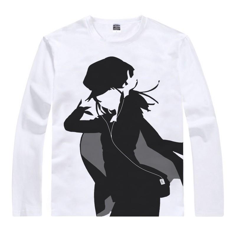Japanese Monogatari anime sports t-shirt anime Mayoi Hachikuji Shinobu Oshino cotton shirt Cosplay christmas Costumes clothing  HTB194aVGFXXXXcJXFXXq6xXFXXXA