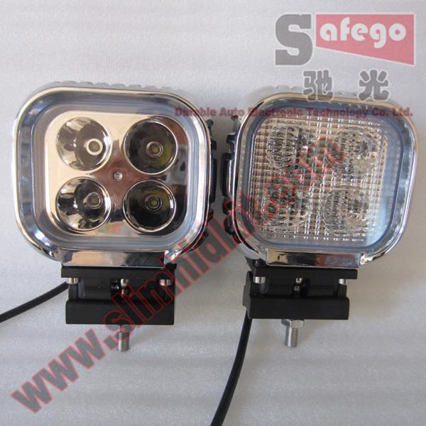10 pcs 12V 40W LED Work Light Led Working Lamp Flood Tractor Offroad Fog Light Kit Auto High Power Free Shipping(China (Mainland))