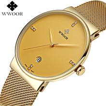 Buy Top Brand Luxury Men's Watch 50m Waterproof Date Clock Male Sports Watches Men Quartz Casual Wrist Watch Gold relogio masculino for $16.97 in AliExpress store