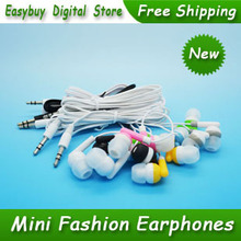 20 pcs/lot New Style High Quality Super Bass Headset 3.5mm In-Ear Stereo Earphones Headphones For iPhone MP3 MP4