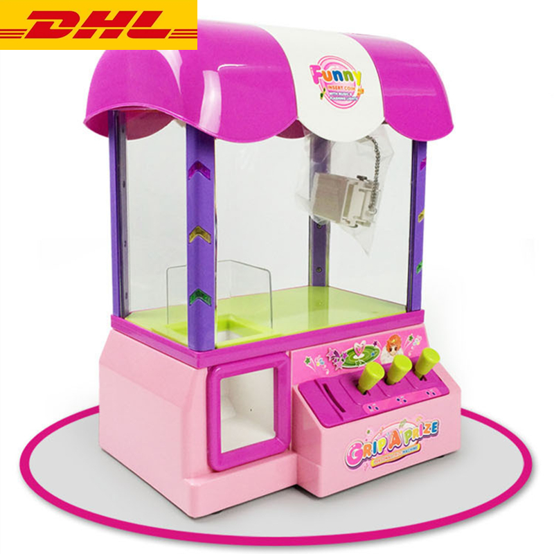 DHL Carnival Candy Grabber Coin Pusher Arcade Toy Catcher Paw Educational Kids Gift Christmas&Halloween Birthday Family Kursaal(China (Mainland))