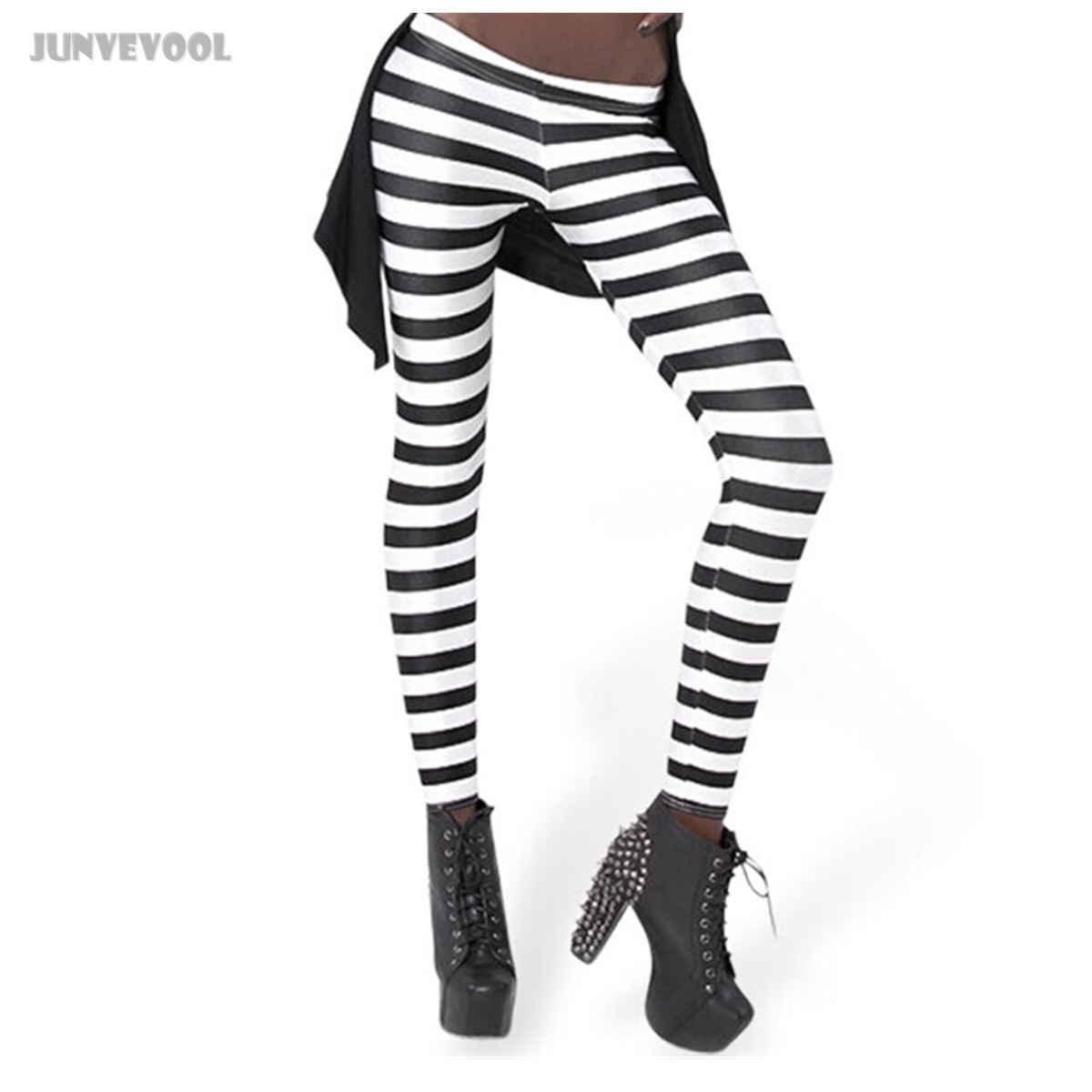 Striped Capri Leggings Promotion-Shop for Promotional Striped ...
