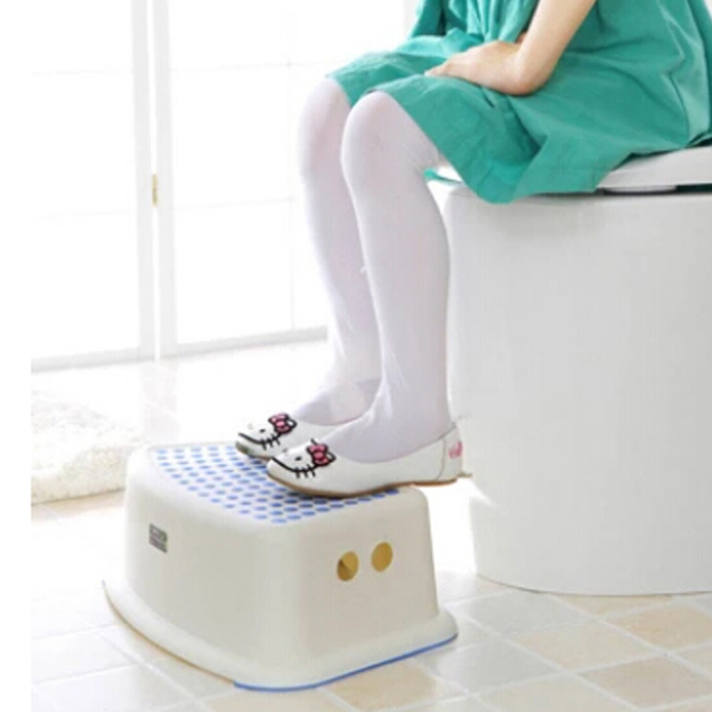 Toddler bathroom step stool