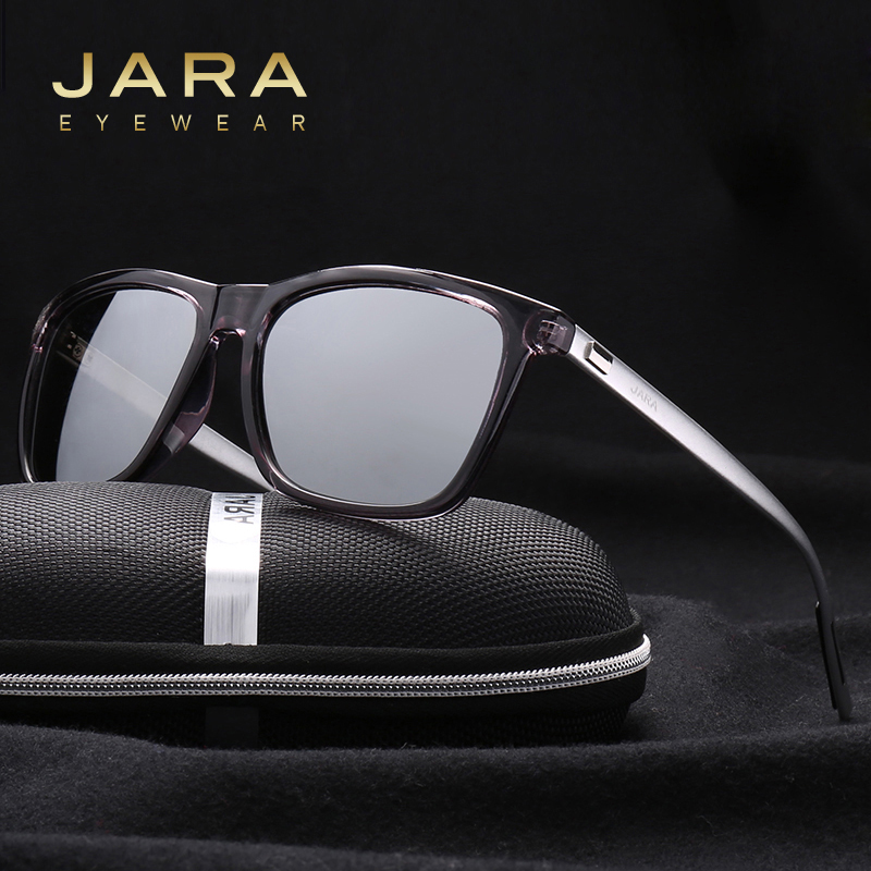 JARA Fashion Aluminum TR90 Polarized Sunglasses Women Eyewear Unisex 2017 Squre Designer UV400 Driving Sun Glasses Men A387(China (Mainland))