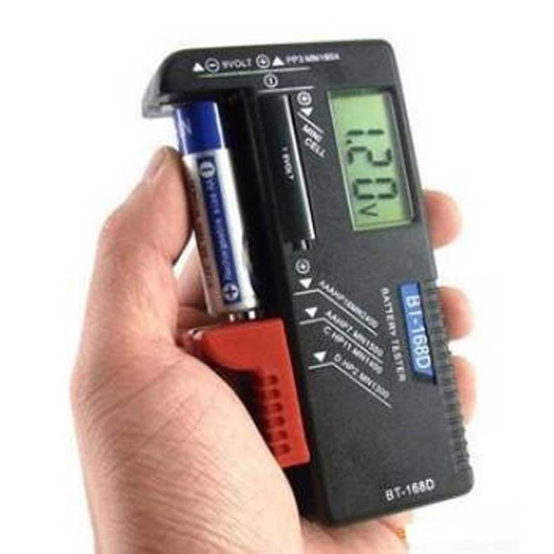 Digital Battery Tester Volt Checker for 9V 1.5V and AA AAA Cell   <br><br>Aliexpress