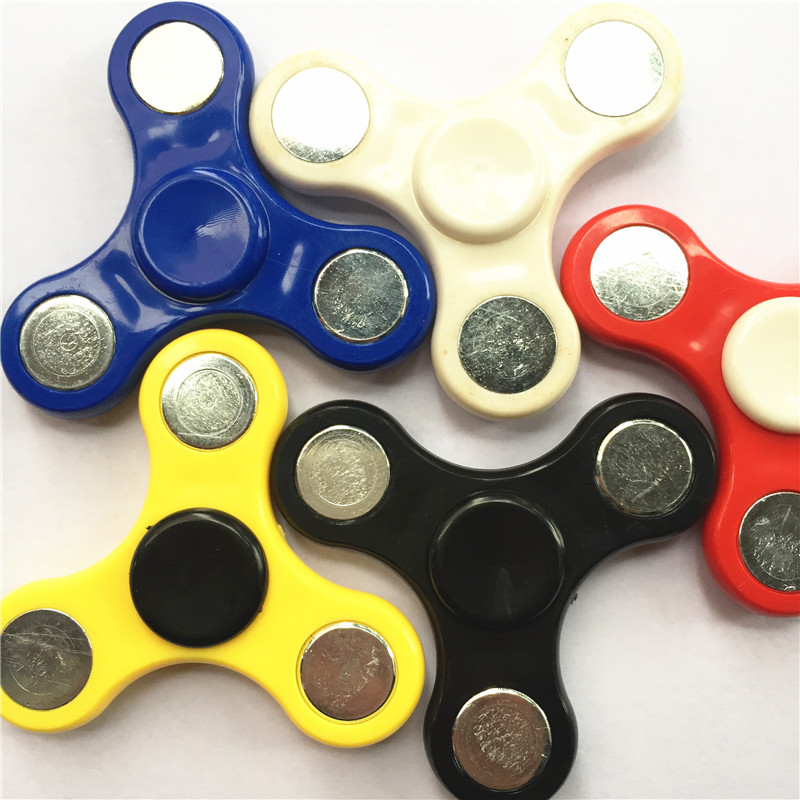 Free Shipping Hand Spinner Fidget Toy Plastic EDC Sensory Fidget Spinners For Autism And ADHD Kids/Adult Funny AntiStress Toys
