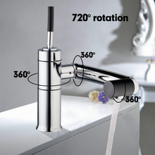 Buy Special New Kitchen Sink Swivel 360 Temperature Sensor Chrome Tap Basin Deck Torneira Cozinha Mixer Faucet 92420A/5 for $39.51 in AliExpress store