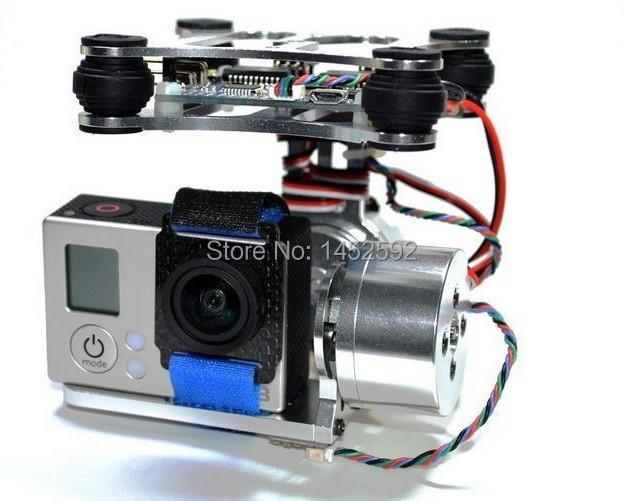 gopro metal brushless camera gimbal w motor controller
