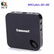 10pcs Tronsmart MX3 Plus Amlogic S812 TV BOX Quad Core 2.0GHz 2GB+8G 4K H.265 XBMC OTA 2.4G/5GHz Dual WiFi IPTV Media Player