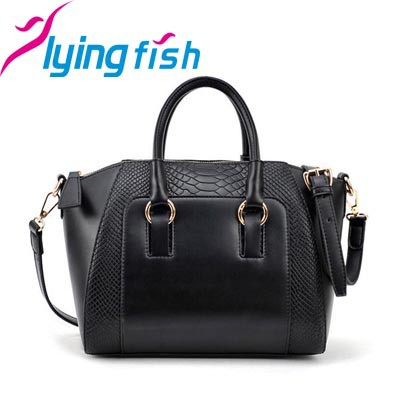 New 2015 Fashion Women Handbag Pu Leather Shoulder Bags Woman Sequined Decoration Crocodile Lines Shoulder Bags for Woman QF067(China (Mainland))