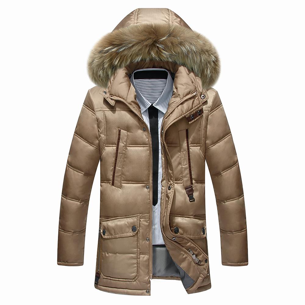 Brand New Winter Jacket Men Warm Cotton Jackets Mens Casual Slim Thick Coat outdoor Sport Down Coat Large size XXXL 2016