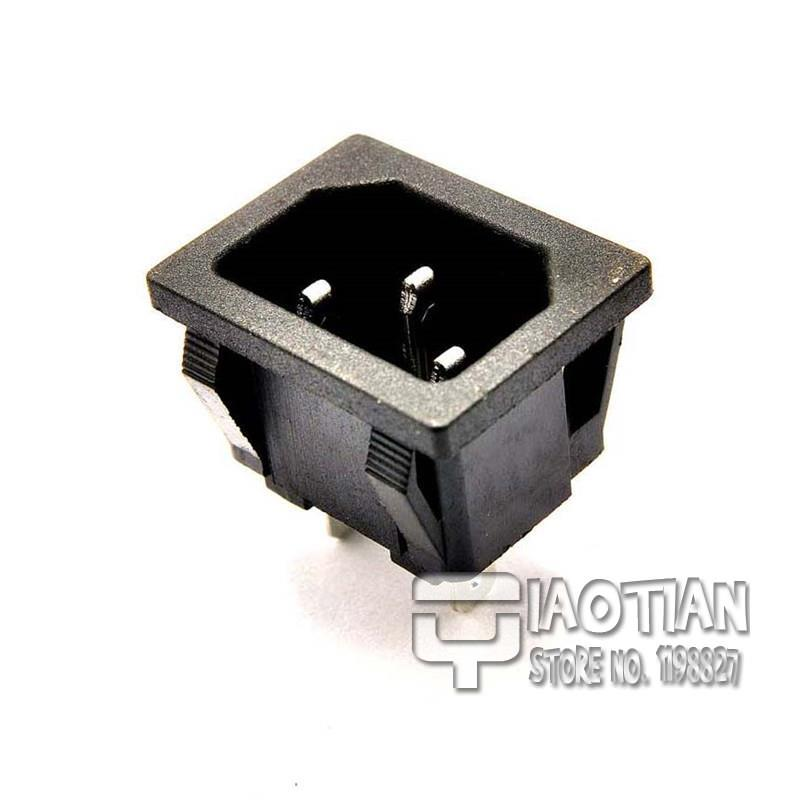 Ac female power outlet socket plug adapter a