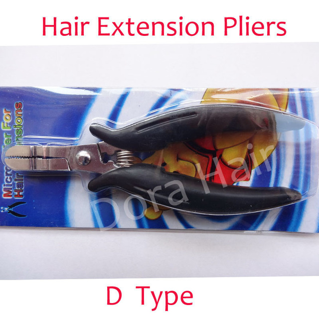1 шт. оптовая продажа высокая - класс D тип плоскогубцы для наращивания волос щипцы ...