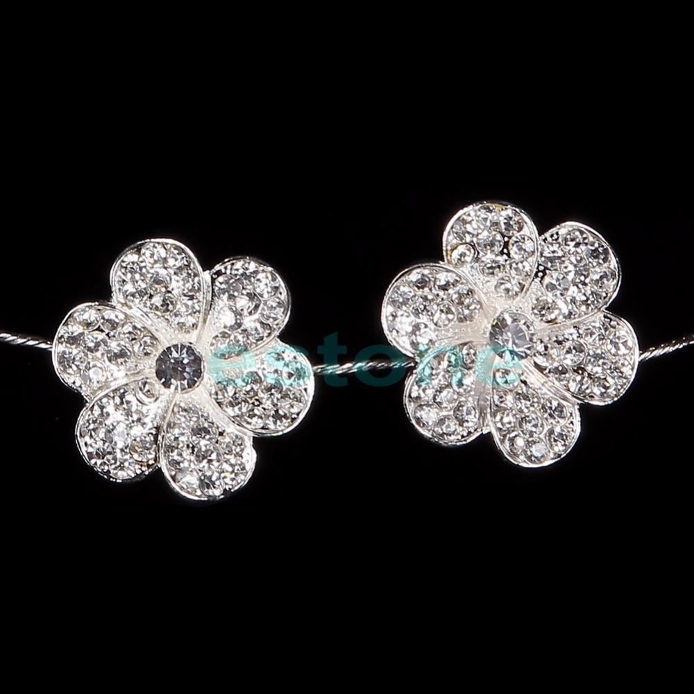free shipping1pc New Fashion Rhinestone Princess Flower Headband Hair Piece Wedding Bride Prom(China (Mainland))
