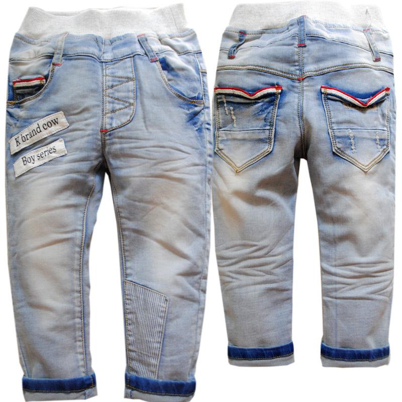 3610  spring soft denim   trousers autumn pants   kids  jeans boys  girls  babies  light  blue childrens clothing<br><br>Aliexpress