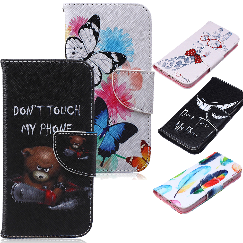 For iPhone 5C Cases Luxury Brand New PU Leather Wallet Cell Phone Flip Case For Funda Coque iPhone 5C Cover Bags Carcasas(China (Mainland))
