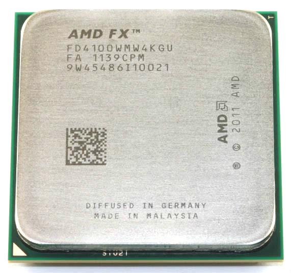 Original AMD FX 4100 3.6Ghz L3=8MB Quad-Core Processor Socket AM3 940-pin FX serial FX4100 cpu(China (Mainland))