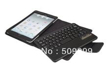 Free shipping For ipad mini 1/2/3/4 bluetooth keyboard case, Removable keyboard case cover for ipad mini 2/3/4 100pcs/lot(China (Mainland))