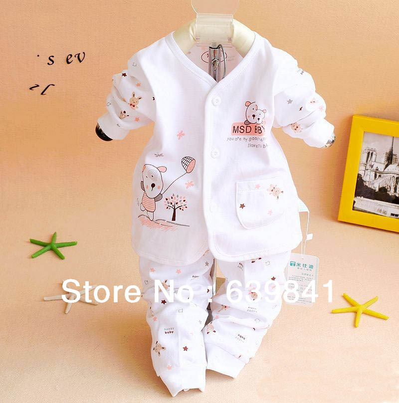 2014 New baby clothing set for newborn Long sleeve carters baby girl and boy clothes 100 % cotton kids wear(China (Mainland))