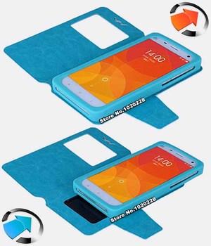 Etui dla Huawei Ascend G526 z klapką i okienkiem
