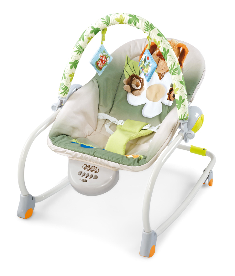 Free shipping multifunctional musical rocking chair baby bouncer baby vibration chair electric baby swing chair baby chair(China (Mainland))