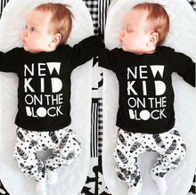 Buy Newborn Baby Boys Girl Clothes Sets Cotton Tops T-shirt Pants Outfits Clothes 3 6 9 12 18 24 Monthes for $5.88 in AliExpress store