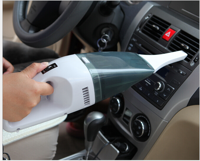 Car vacuum Cleaner of Portable Handheld Wet & Dry Dual-use Car cleaner 60W 12V(China (Mainland))