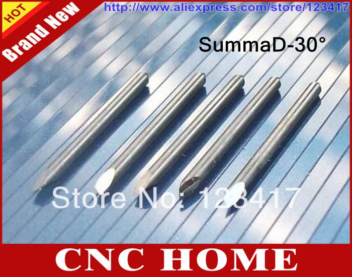 5 x 30 Degree Summa D Vinyl Cutter Plotter Blades - Shanghai CNC HOME Ltd. Co. store