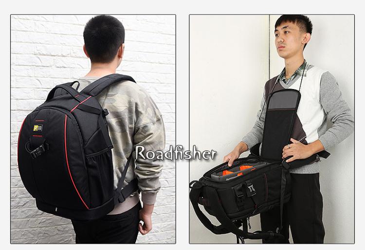 Camera backpack bag 7